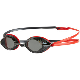 speedo Vengeance Goggle Lava Red/USA Charcoal/Smoke